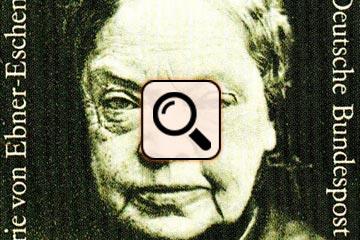 Briefmarke Marie von Ebner-Eschenbach