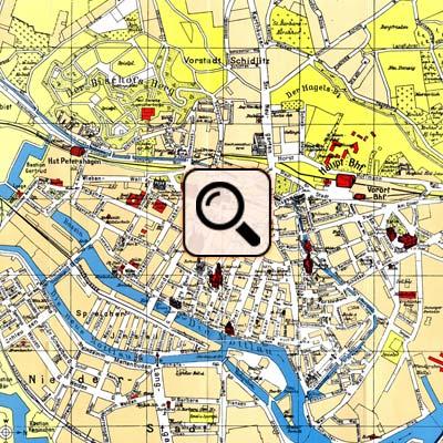 Danzig Stadtplan