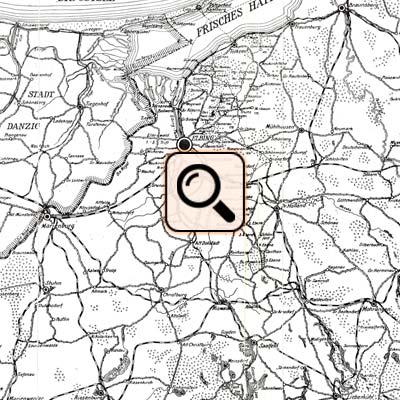 Landkarte Elbing
