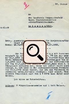 Gentsch - Einweisung nach Schiefbahn (1953)