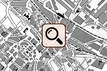 Stadtplan Gleiwitz