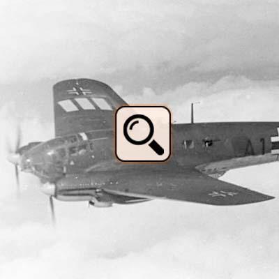 Stuppan Fluchtflugzeug Heinkel He111