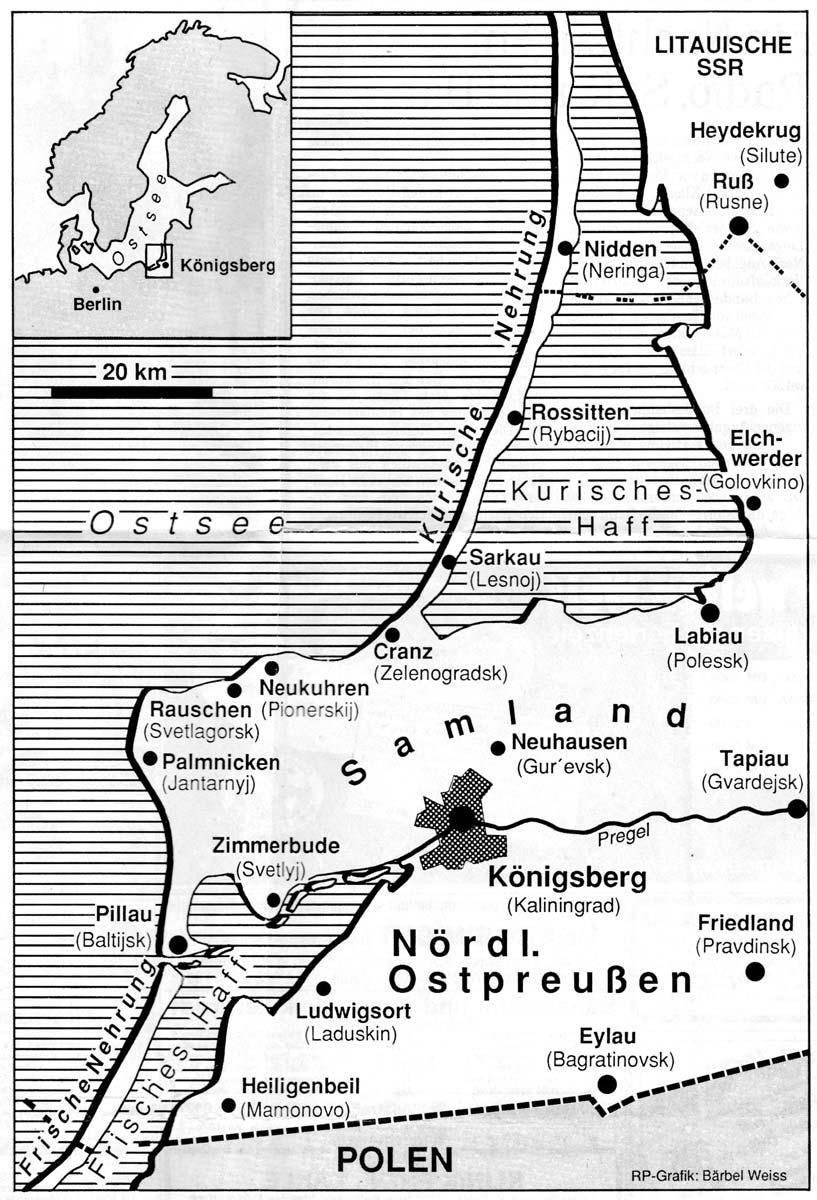 Kurische Nehrung Karte.Heiligenbeil Willich Nach 1945 Flucht Und Vertreibung