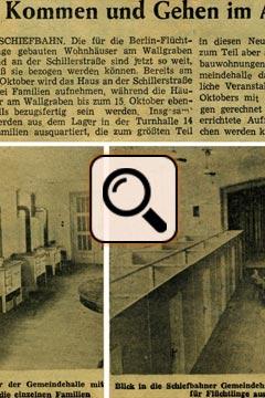 Presseartikel vom 01.10.1953