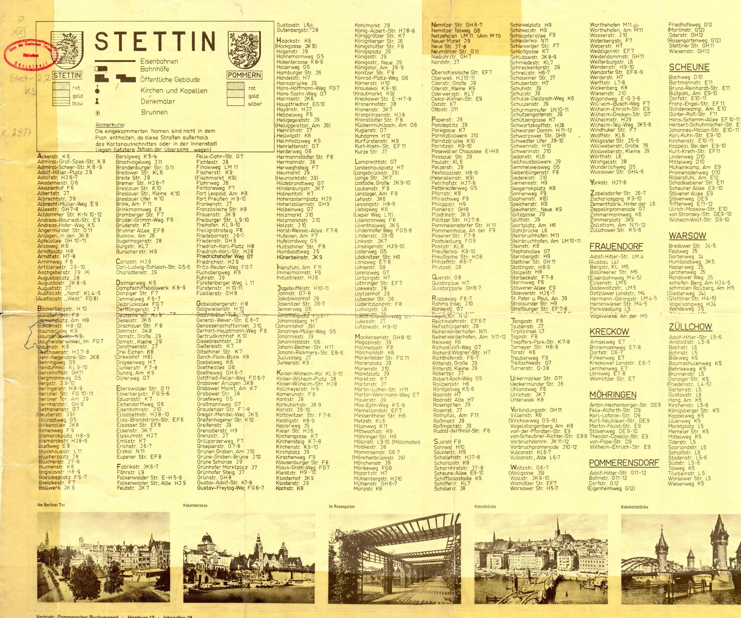 Stettin Vertreibung 1945