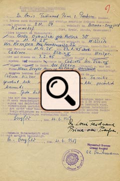 Eidesstatt Prinz Louis Ferdinand von Preußen (1959)