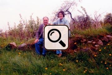 Jürgen Rudi und Frau in Johannisberg
