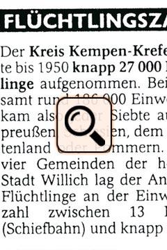 Pressedokument - Flüchtlinge zum Kriegsende in Zahlen (2005)